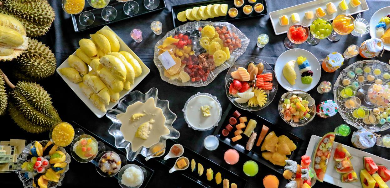 Kết quả hình ảnh cho buffet Baiyoke Sky