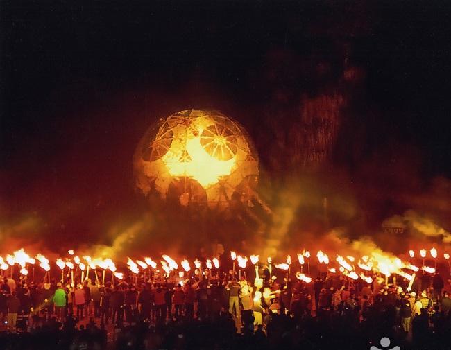 Kết quả hình ảnh cho lễ hội lửa hàn quốc