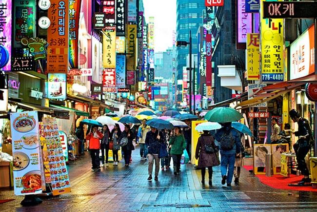 Kết quả hình ảnh cho khu phố Hongdae
